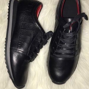 Alexander Wang Sneakers. Size 9. Black/Red Detail